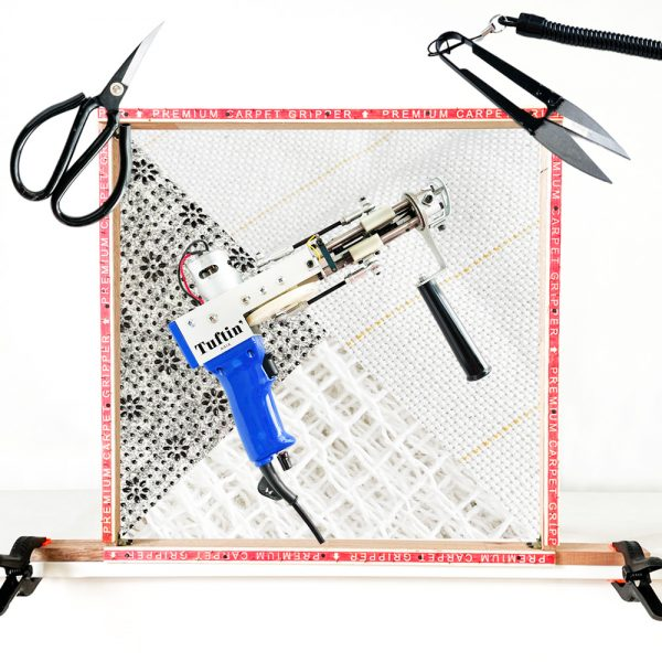 All-in-One Tufting Gun Starter Kit – Cut Pile (Ready stock – ships immediately!)