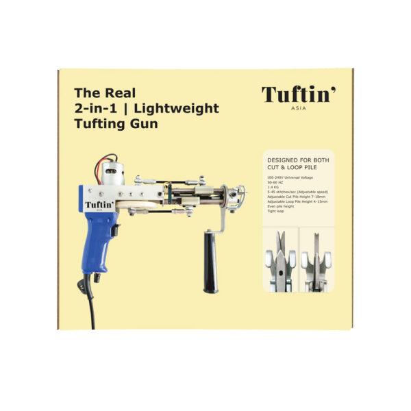 2-in-1 Tufting Gun (One gun for both cut & loop pile!)